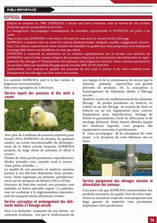 Letre avicole N°2 HORS-SERIE